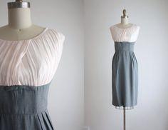 1960s chiffon dress by 1919vintage on Etsy