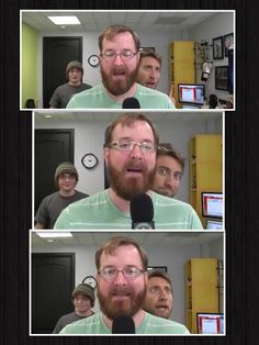 Jack, michael, gavin.....  Gavin's face tho