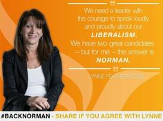 Lynne Featherstone on Norman Lamb as LibDems leader