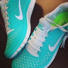 Cute sneakers make me want to workout more!