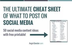 Social media cheat sheet_site