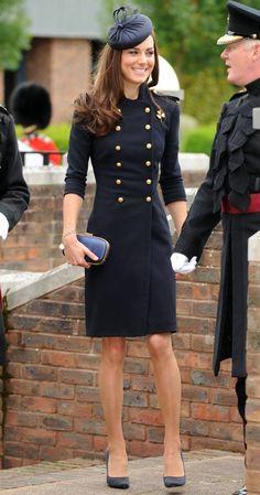 Kate Middleton's Black Dresses - Fashion Show ON