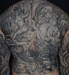 completed back piece