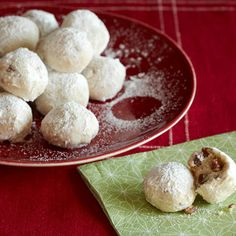 Snowball Cookies | Recipes | Spoonful