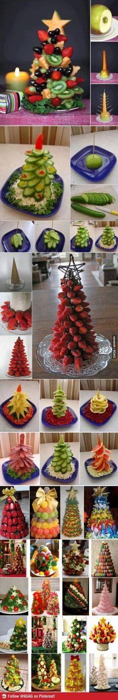 Gezonde fruit boom traktatie