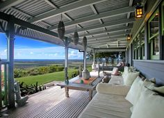 5 bedroom house for sale at 448 Old Byron Bay Road, Newrybar, NSW Price on Application. View 26 property photos, floor plans and Newrybar suburb information. Outside Living, Outdoor Living, Front Verandah, Barn House Plans, Exterior Makeover, Backyard, Patio, Country Farmhouse, Country Living