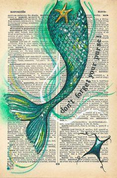 Meerjungfrauenschwanz - Jason Floyd DIY and Art Real Mermaids, Mermaids And Mermen, Pics Of Mermaids, Art Vampire, Vampire Knight, Mermaid Drawings, Mermaid Tail Drawing, Mermaid Tail Tattoo, Mermaid Paintings