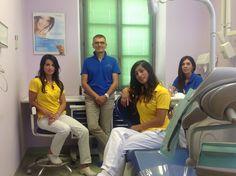 Il Dott. Davis Cussotto con il suo splendido staff - Studio dentistico Il Mulino @mulinoasti #eccellenzadentale #unidi #backstage
