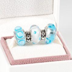 Pandora MOA - Blue Beauty Gift Set, $145.00 (http://www.pandoramoa.com/blue-beauty-gift-set/)