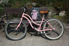 a pink bike...be still my heart