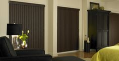 3 Day Blinds Vertical Blinds - Enhance sliding doors and larger windows into stylish focal points.