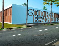 "Check out new work on my @Behance portfolio: ""GOLD FISH BEACH CLUB"" http://on.be.net/1Z8ntNW"