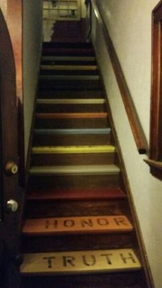 Truth & Honor Stairs