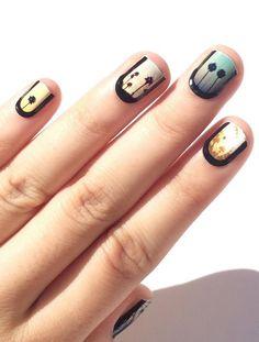 Vintage filter nails