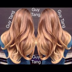 Dimensional Sun-kissed Balayage Ombre by Guy Tang
