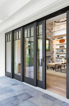All About Exterior French Doors Sliding Patio Doors Patio inside Sliding Exterior Doors - Home Design Ideas This Old House, Sliding Door Design, Exterior Sliding Doors, Entry Doors, Front Doors, Exterior Patio Doors, Exterior Doors With Glass, Garage Doors, Porch Doors