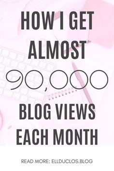 How I get almost 90,000 blog views a month with Pinterest strategies. How to grow your blog traffic with Pinterest marketing strategies. #blogtraffic #growyourblog #blogtraffictips #pinterestmarketing #pinteresttips #contentstrategy #contentmarketing