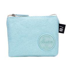 Women Canvas Bag Change Pouch Key Holder Small Pouch Mini Coin Purse Change Pouch Monederos Kawaii #120 #Affiliate
