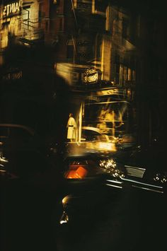Ny reflections, 1962. Ernst Haas