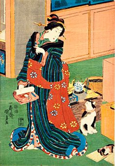 #Japanese Bob Tail Cat kunisada