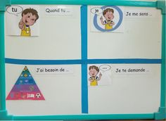 Langage Non Verbal, Health, Socialism, Mindfulness Exercises, Conflict Management, Conflict Resolution, Visual Aids, Living Together, Kindergarten Classroom