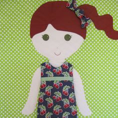 Faye by PaperDollBlanket on Etsy