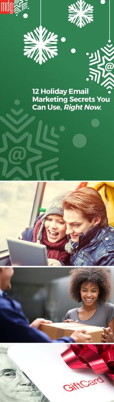 """New E-book: """"12 Holiday #Email Marketing Secrets You Can Use, Right Now."""" -- If you haven't already started your holiday email marketing, you probably should have. That's the advice of a new complimentary e-book from MDG Advertising. According to """"12 Holiday Email Marketing Secrets You Can Use, Right Now,"""" 40% of consumers start their holiday shopping before the end of October."""