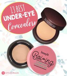 13 Best Under-Eye Concealers Best Under Eye Concealer, Under Eye Primer, Best Concealer, Under Eye Makeup, Eye Cream For Dark Circles, Eye Circles, Dark Under Eye, Skin Brightening, Laura Mercier