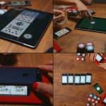 Using a Mobile-phone to Play Texas Poker