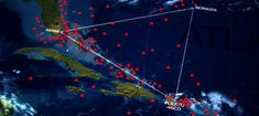 Bermuda Triangle, off the Coast of Cuba; Ship Reappears 90 Years After Going Missing, (6/2/15).