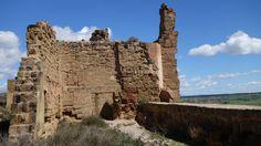 Ruinas en el interior del Castillo de Montearagón