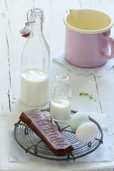 "Milk, chocolate, egg, cream, ""Chocolate pots de creme"""