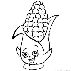 Exclusive Corny Cob shopkins season 2 coloring pages printable and coloring book to print for free. Find more coloring pages online for kids and adults of Exclusive Corny Cob shopkins season 2 coloring pages to print. Shopkin Coloring Pages, Animal Coloring Pages, Coloring Pages To Print, Coloring Book Pages, Printable Coloring Pages, Kawaii Disney, Free Coloring Sheets, Coloring Pages For Kids, Pictures Of Candy Corn