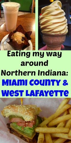 Eating my way around Northern Indiana - Miami County and West Lafayette with a delicious gastrotour!
