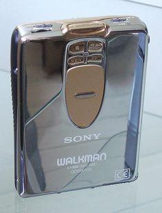 That is one good looking 90s Walkman...