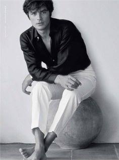 Alain Delon for Eau Sauvage Eau de Toilette by Dior campaign