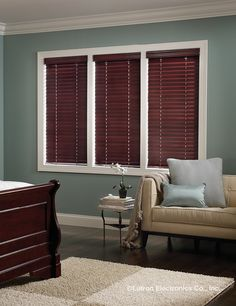 Block the sun's harsh rays-and get a little more shut-eye--with these automated Venetian blinds from Lutron.  www.automation-design.com
