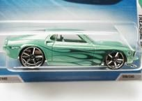 Hot Wheels 2010 #056 '69 Ford Mustang Treasure Hunts #12 Green OH5SP
