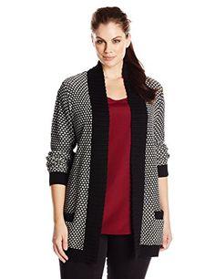 3e917cbac4609 Fashion Bug Womens Plus Size Cotton Acrylic Sweater www.fashionbug.us   PlusSize