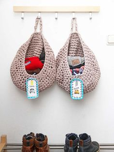 Crochet Storage Basket ❥ 4U hilariafina  http://www.pinterest.com/hilariafina/