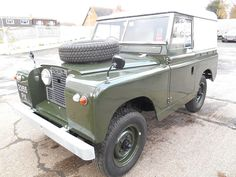 Rare 1960 Series II Hard Top retaining many original features. Recent body off restoration, chassis shot blasted & professionally repaired, outriggers etc replaced prior to chassis paint. Body shot blasted to bare metal, new doors, door tops, seals etc & repainted in original colour. | eBay!