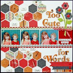 Too Cute for Words - Scrapbook.com