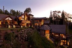 Castlewood Manor in the Rocky Mountains of Telluride, Colorado