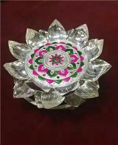 3387 grams silver beautiful designed lotus stand deepam dhupam more information mightylinksfo