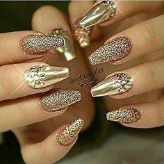 81 Mejores Imágenes De Nails Efecto Espejo Uñas Espejo