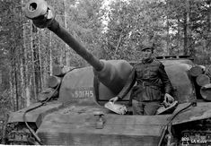 "frau-garlic: "" Stug III with concrete armor and waffle pattern zimmerit in Vuosalmi, Finland. Tank Warfare, Photo Dump, Tank Destroyer, Ww2 Tanks, Armored Vehicles, Skin So Soft, Military History, World War Ii, Finland"
