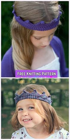 Knit Circlet Crown F