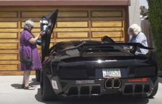 "How would you react if you saw two grandmas pull up in a Lamborghini? Take a look at this crazy combination… ""We gave two grannies keys to a Lambo… Lamborghini, Car Photography, Sexy Cars, Aston Martin, Luxury Cars, Cool Photos, Sailing, Bmw, Concept"