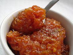 Flavors of Brazil: RECIPE - Homestyle Squash Compote (Doce de Abóbora Caseiro)