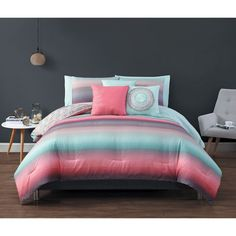 your zone tribal bedding comforter set with green twin sheet bundle new girl kid and bedspread